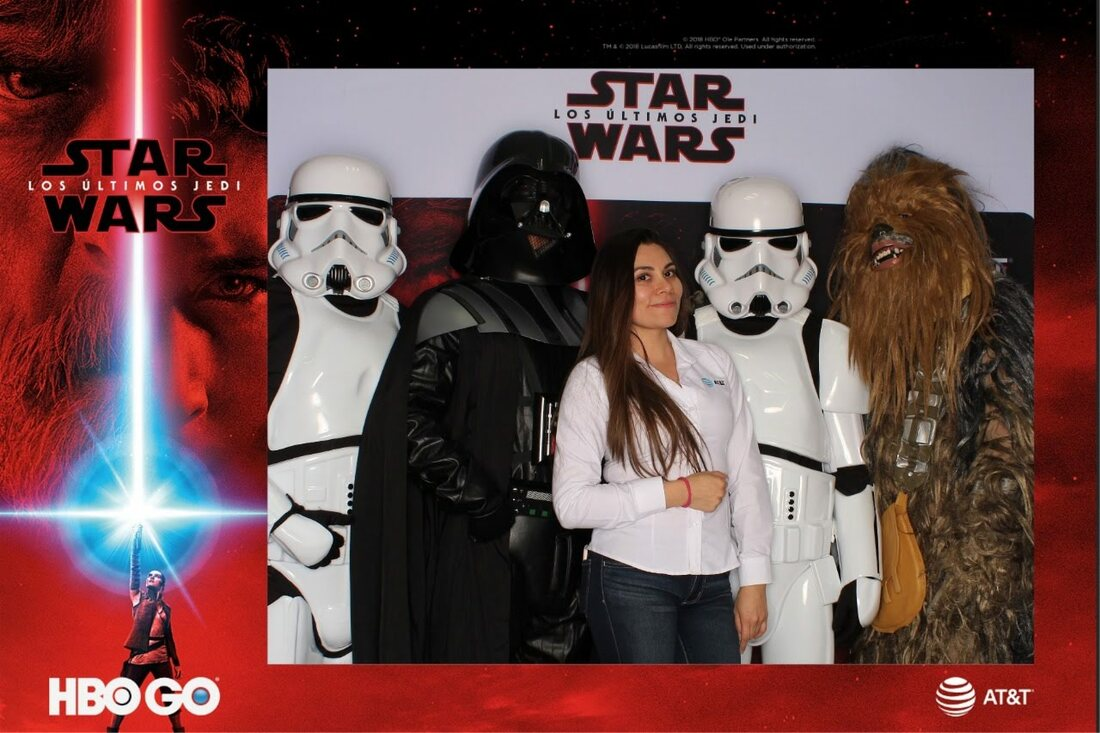 Photobooth Hbo AT&T Star Wars